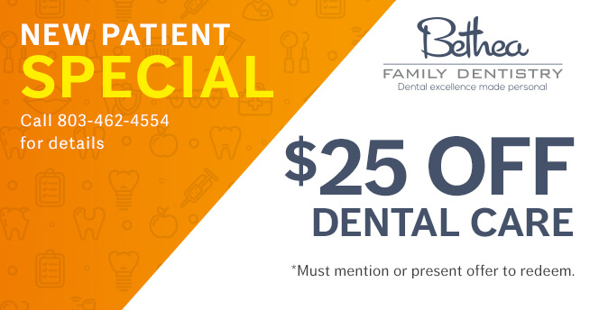 $25 OFF Dental Care (Must mention or present offer to redeem)